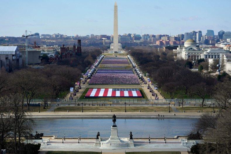 National Mall Inauguration Day