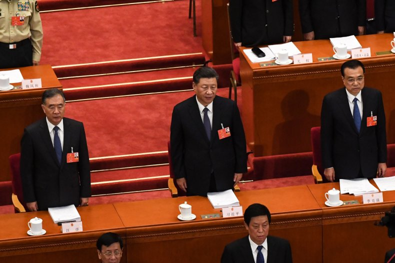 Chinese Leadership Appears for Legislative Session