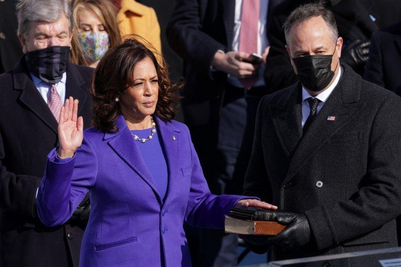 kamala harris inauguration vice president joe biden