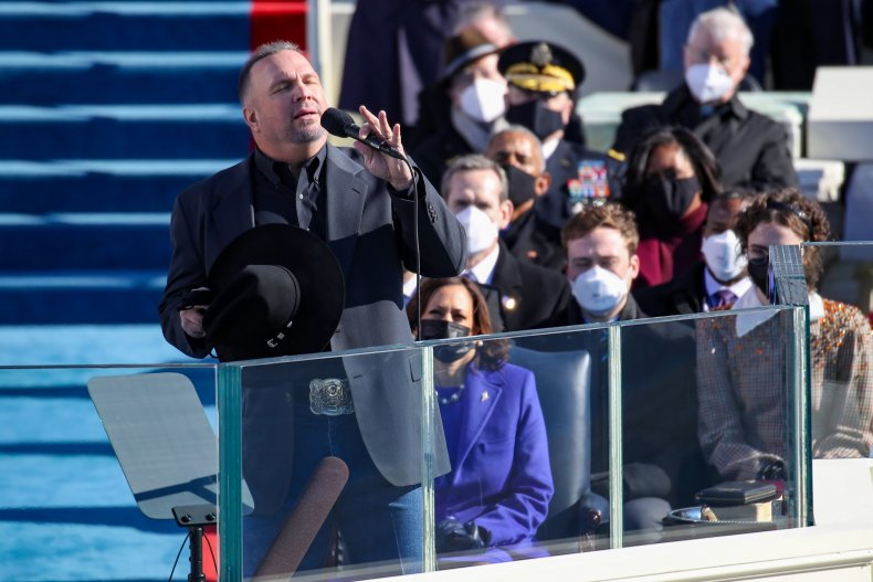 Garth Brooks Joe Biden Inauguration