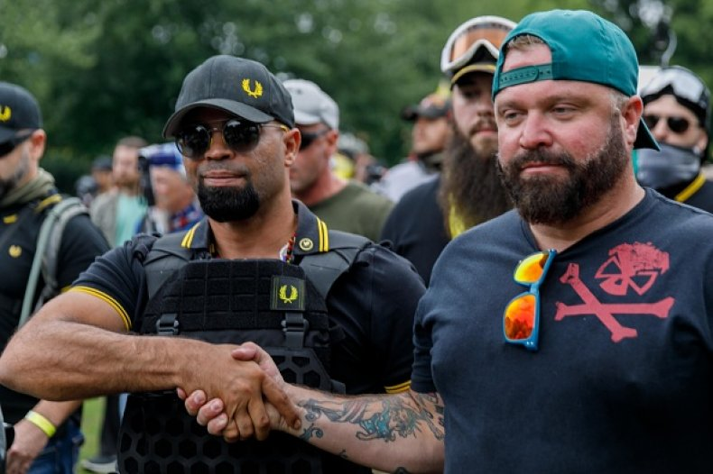 US-PROTEST-FAR RIGHT Leader of the Proud Boys