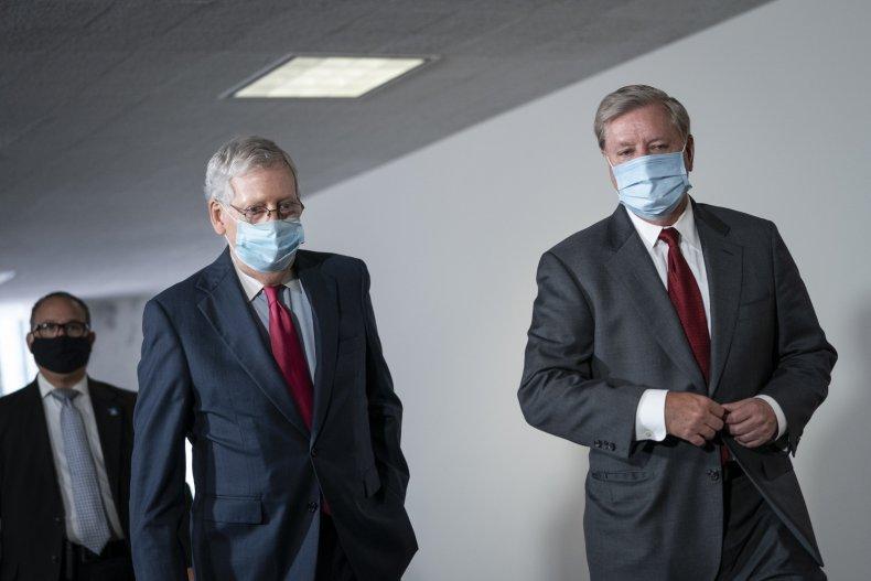 Graham Urges McConnell to Denounce Trump Impeachment
