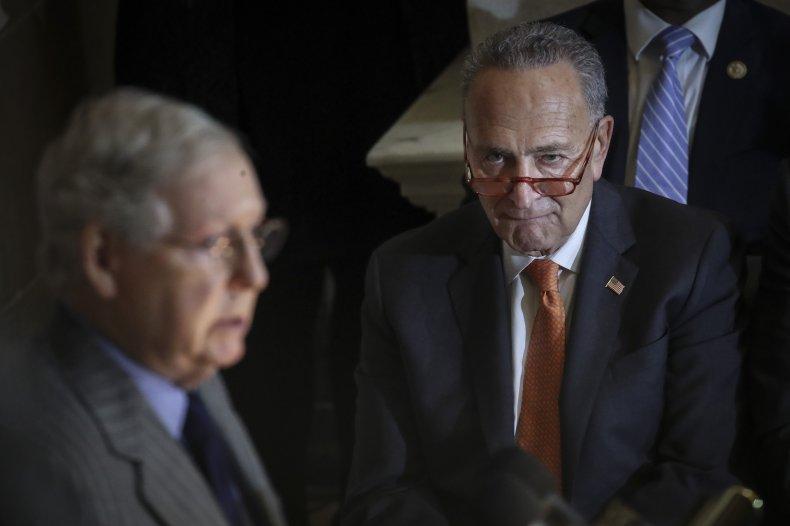 Chuck Schumer Mitch McConnell Senate Republicans Democrats