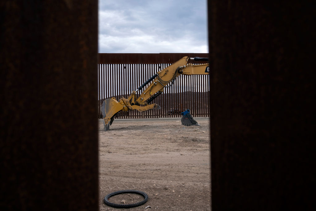 Biden presses pause on Trump's border wall as vast swathes left unfinished