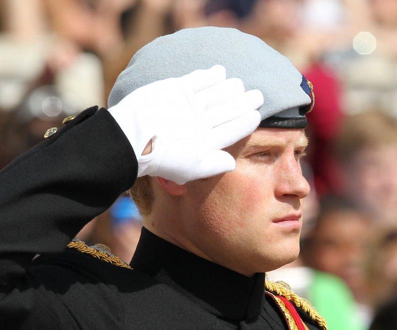 Prince Harry Visits Arlington Naitonal Cemetery
