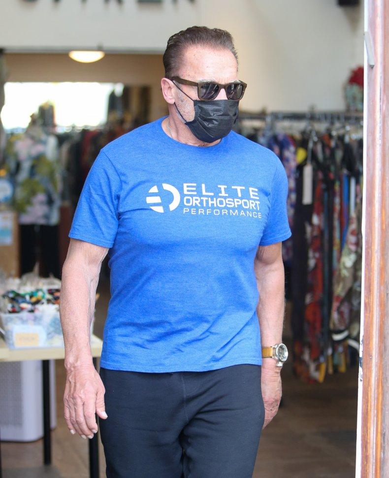 Arnold Schwarzenegger in LA