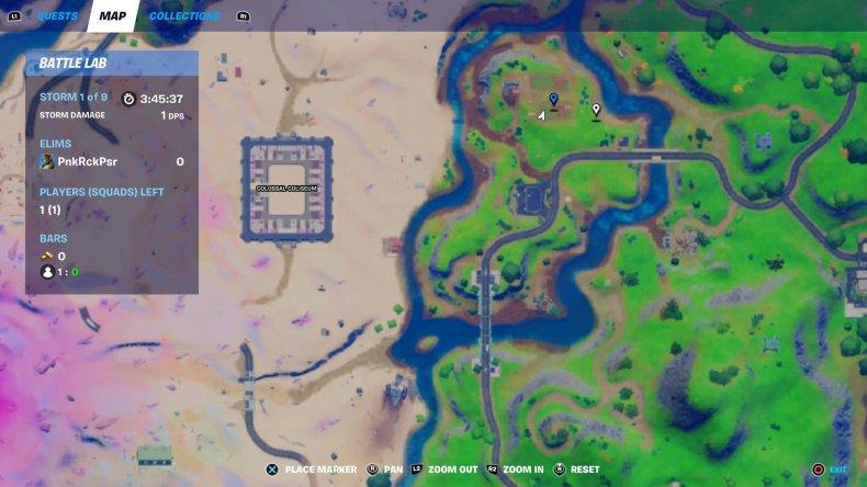 fortnite steel farm location map
