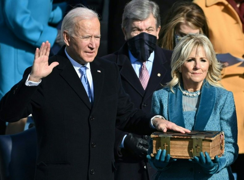 Joe Biden Oath of Office