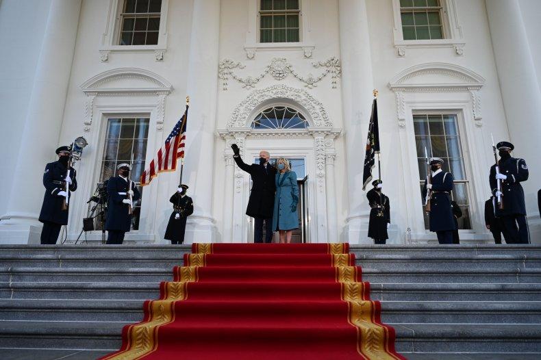 Joe and Jill Biden at White House