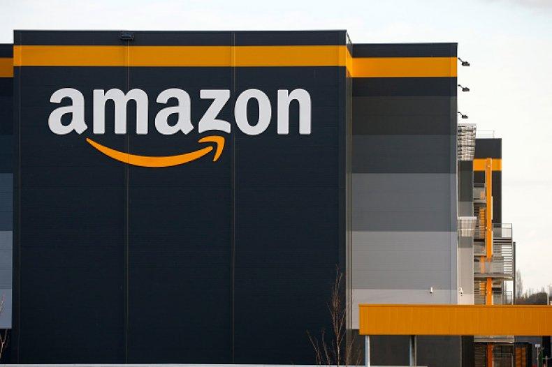 View Of Amazon Logistics Center BRETIGNY-SUR-ORGE, FRANCE