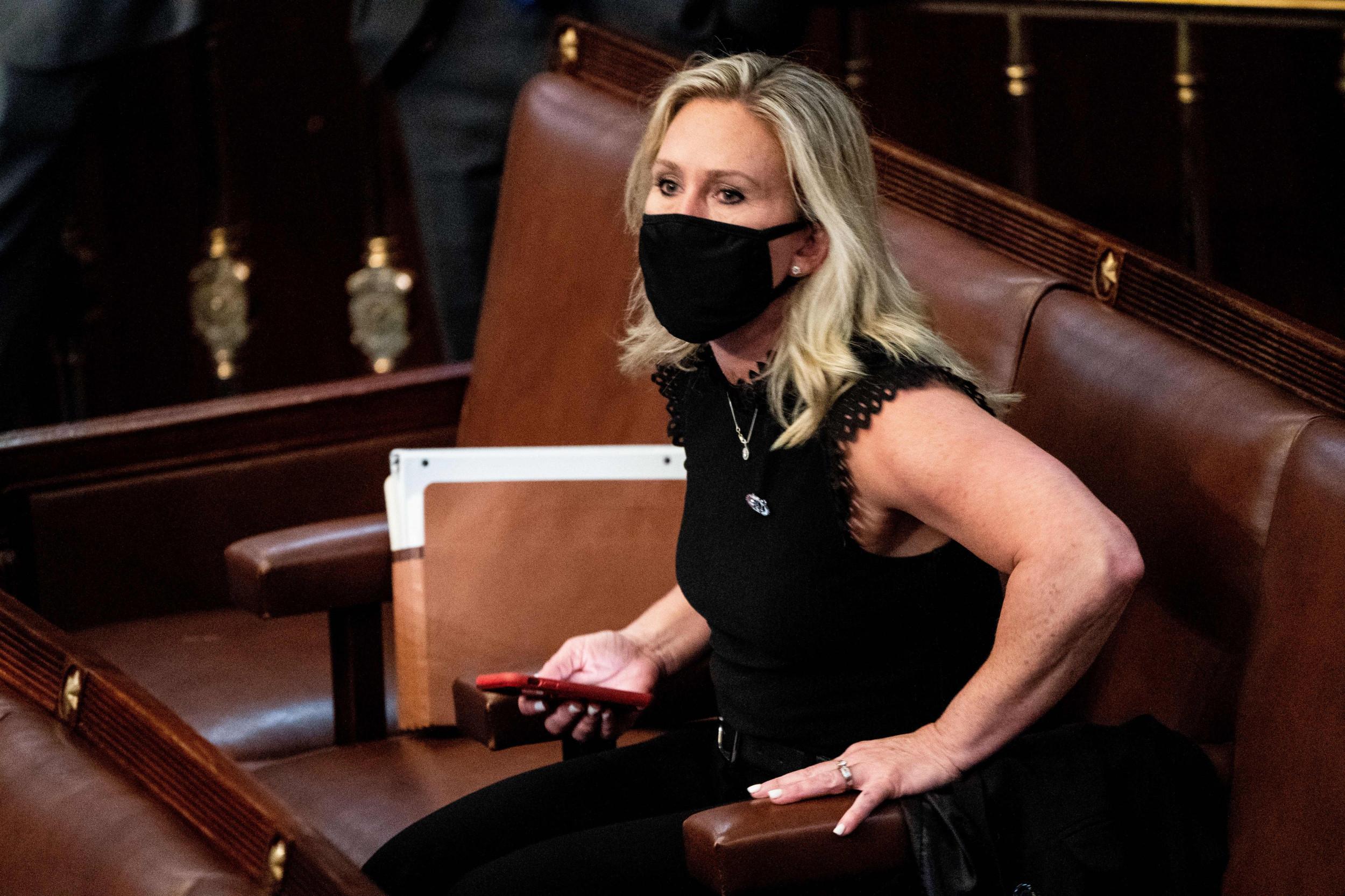 Marjorie Taylor Greene files impeachment articles against Biden, fundraises off effort