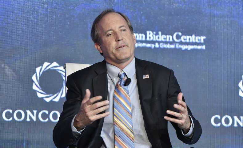 ken paxton threatens to sue DHS immigration