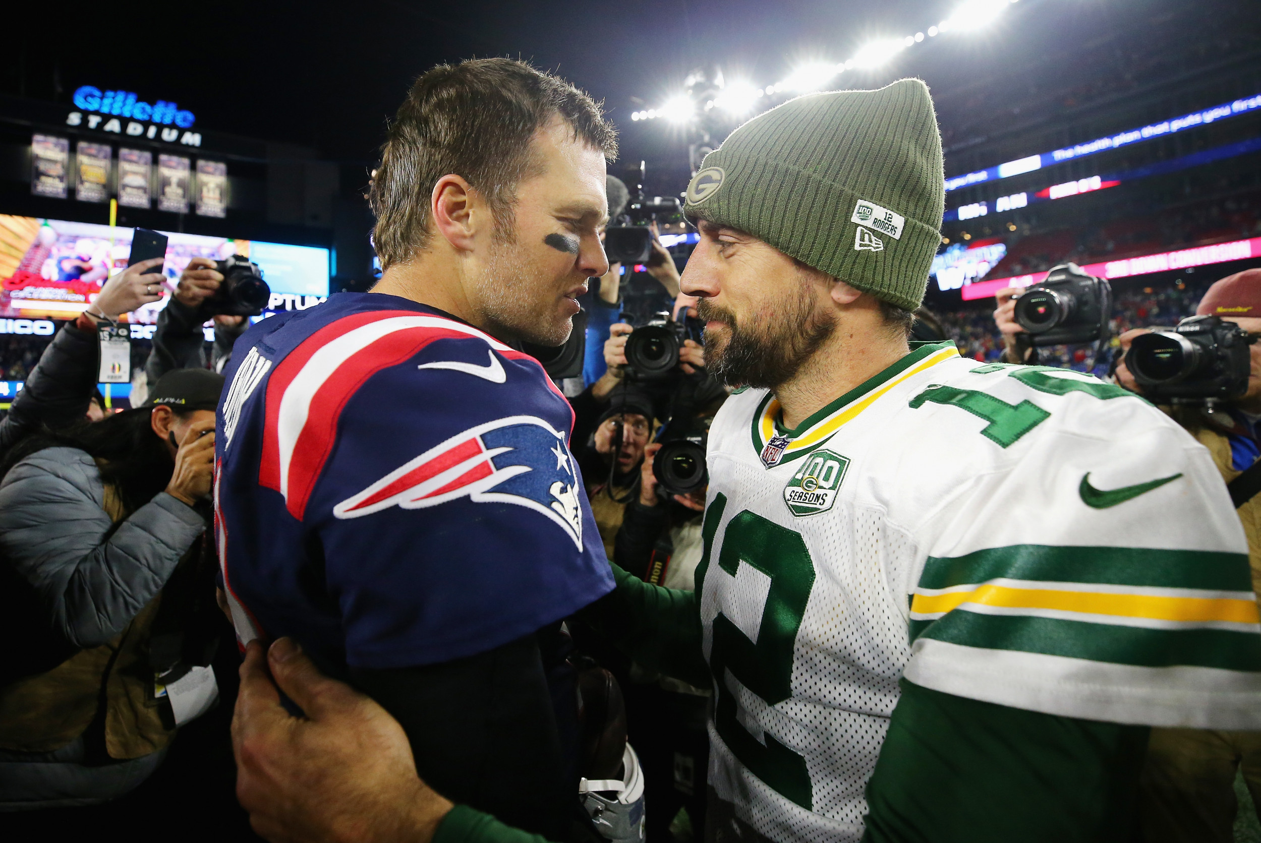 Tom Brady vs. Aaron Rodgers—What happened in their three previous meetings