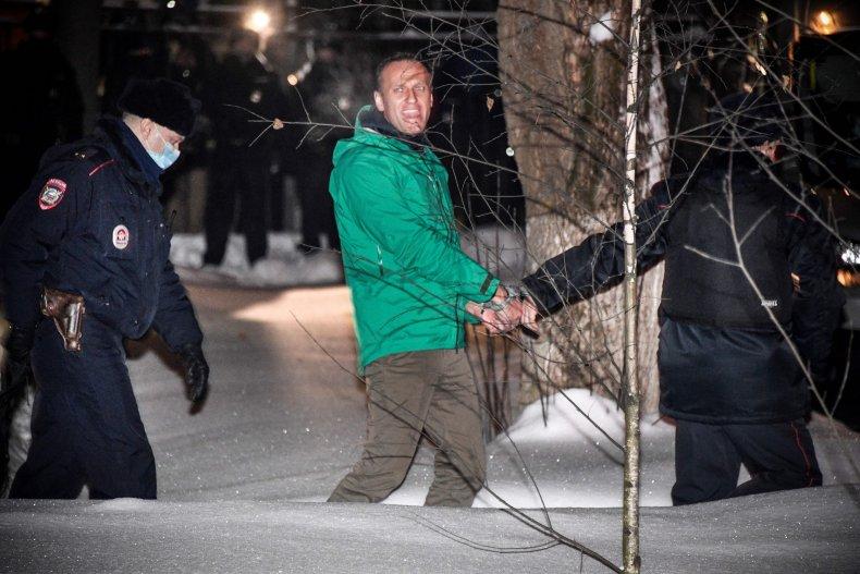 Russian opposition leader Alexei Navalny i