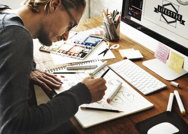 #72. Commercial art & graphic design