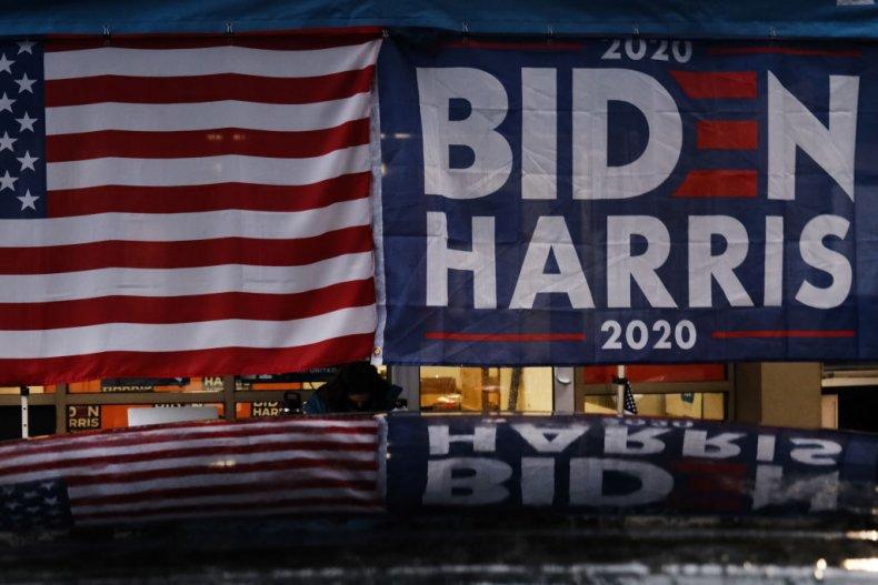 Joe Biden sign