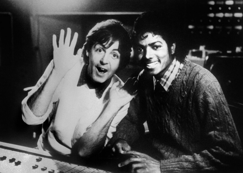#21. 'Say Say Say' by Paul McCartney & Michael Jackson