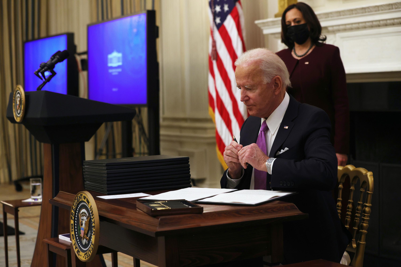 Biden's actions speak louder than words | Opinion