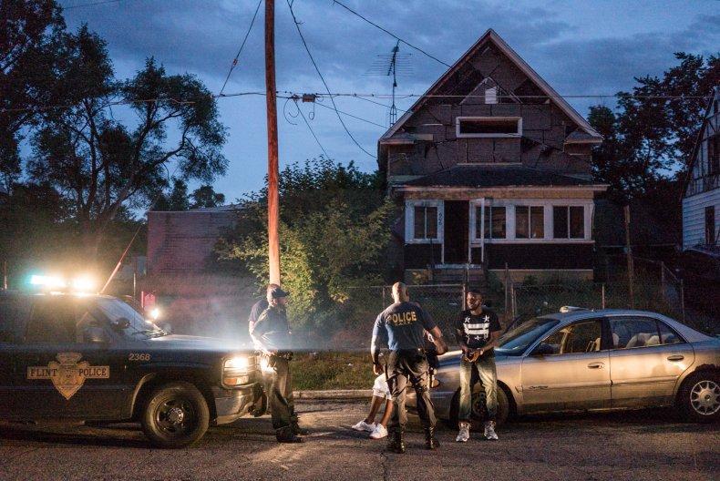 Flint Town production still Netflix