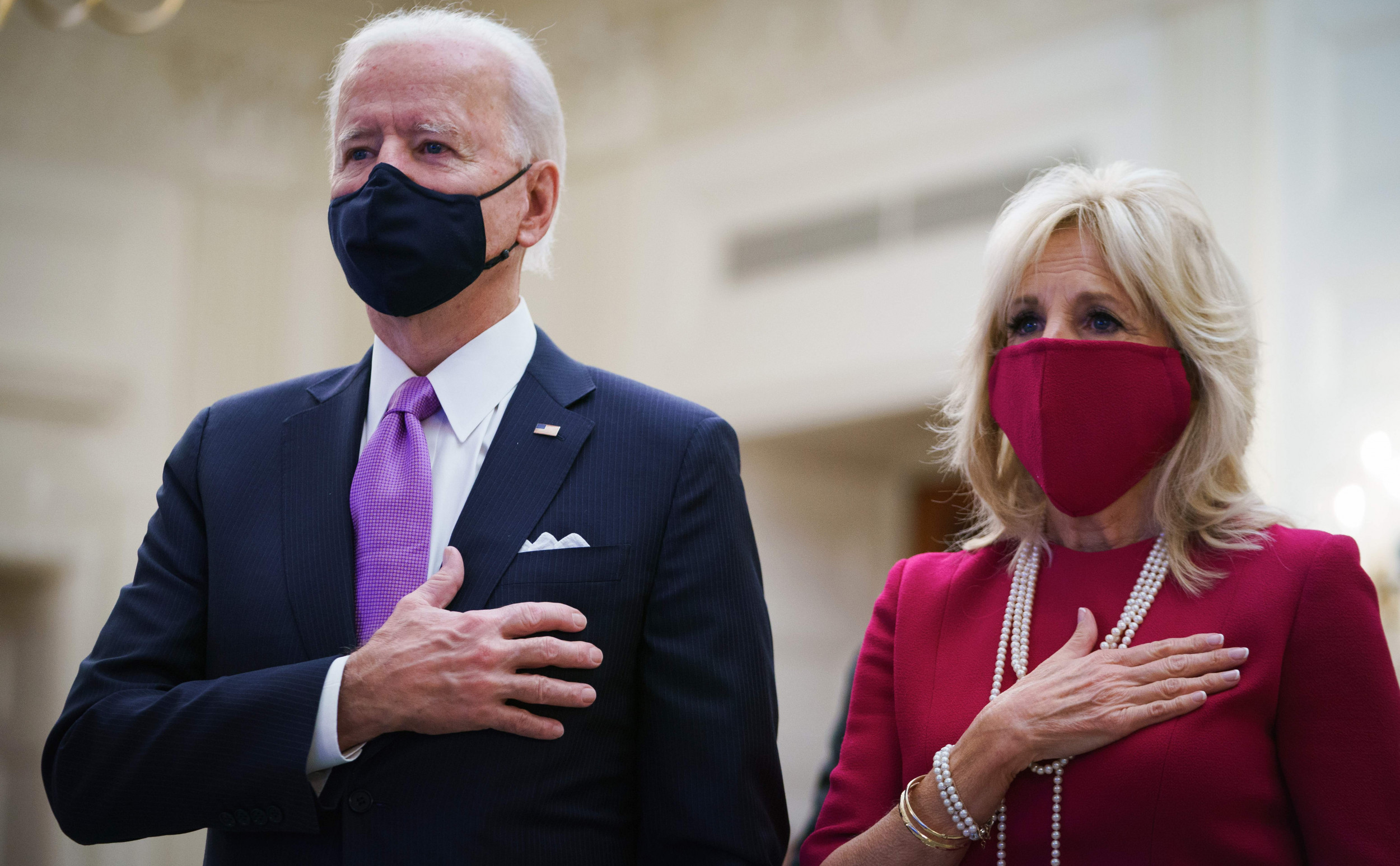 Jill Biden Delivers Cookies Baked by White House...