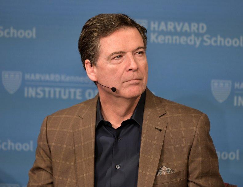 Ex-FBI Director James Comey