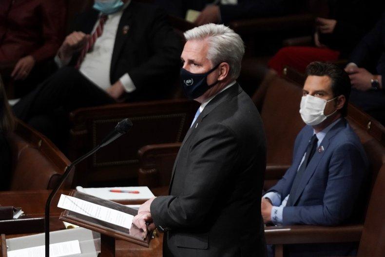Kevin McCarthy Capitol Riots