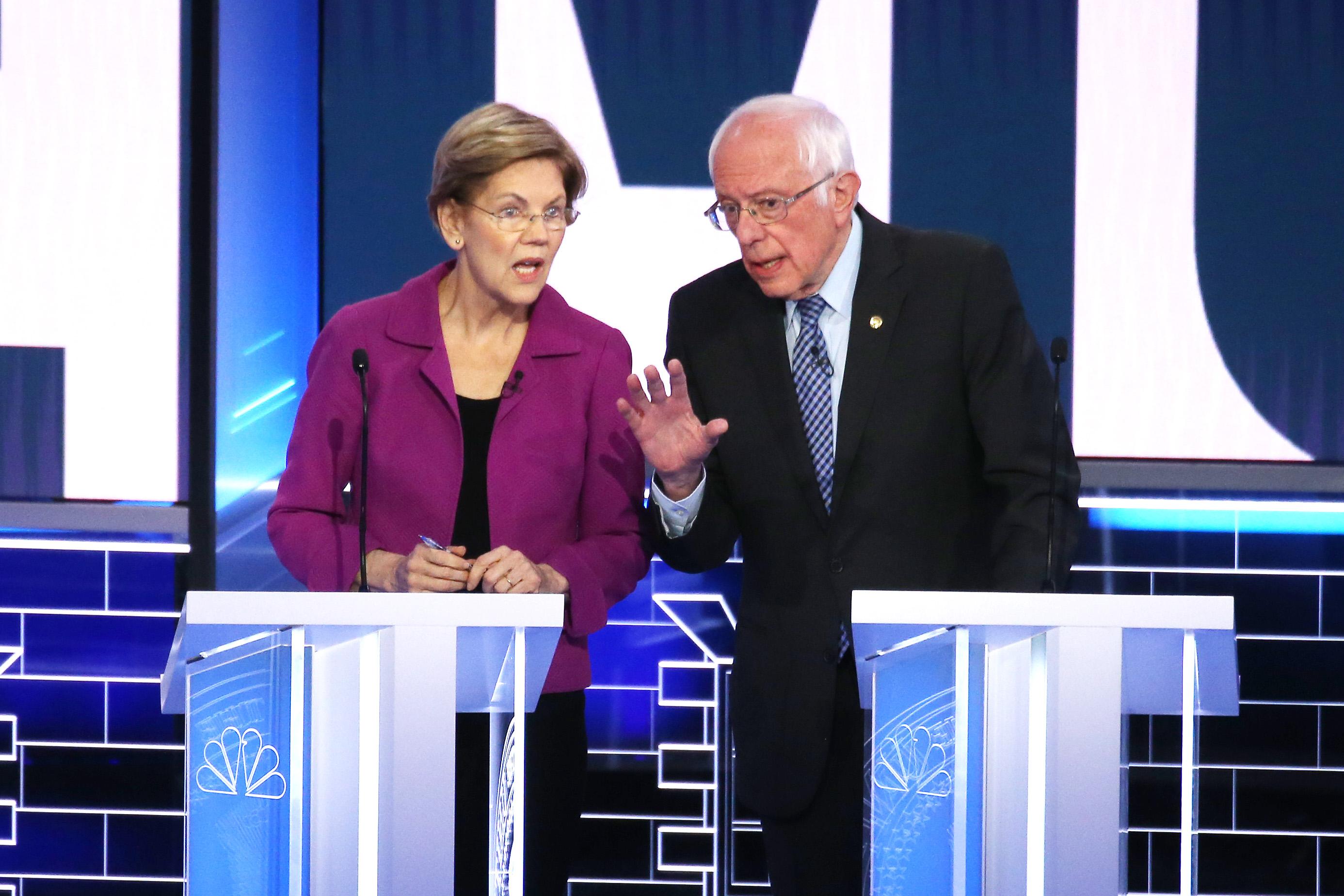 "Sanders, Warren warn Senate majority will be used in ""very aggressive way"" if GOP blocks stimulus"
