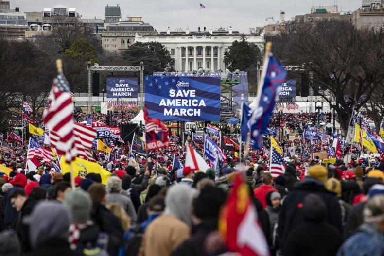Donald Trump Save America Rally Capitol Riots