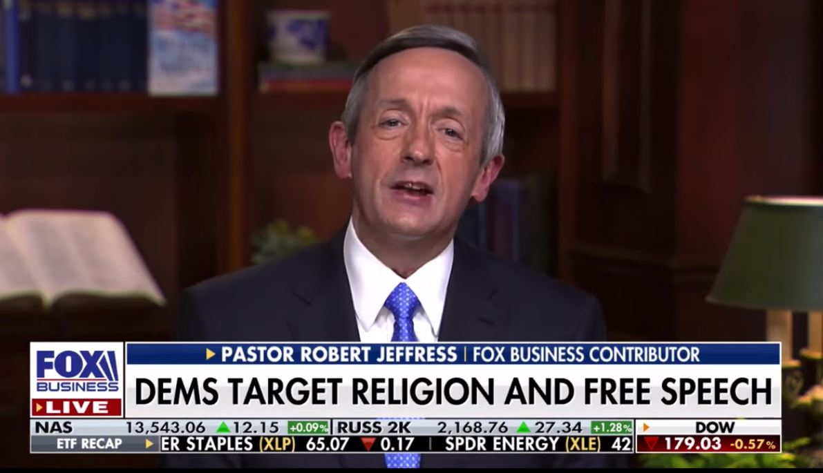 Pro-Trump Pastor Mocks Biden Message of 'Unity,' Blasts LGBTQ Protections