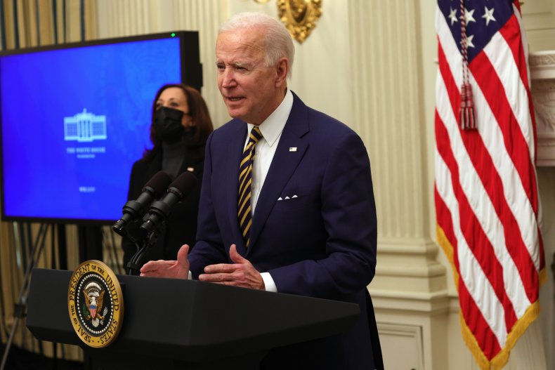 Joe Biden and Kamala Harris White House