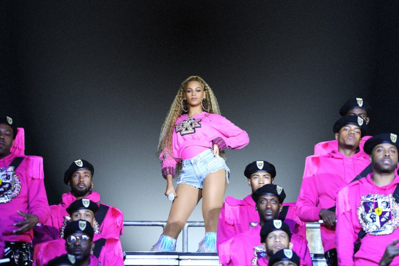 Still from Homecoming: A Film By Beyoncé