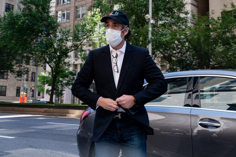 Michael Cohen in New York City