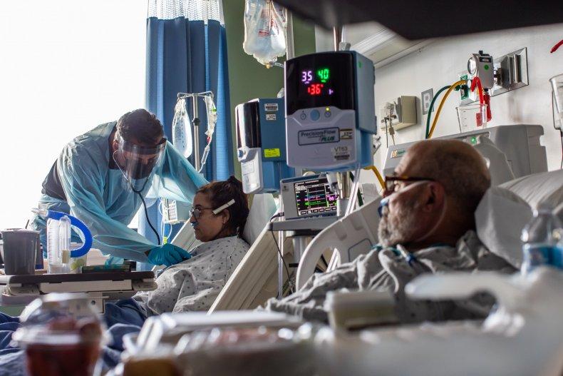 LA ICU hospital California January 2021
