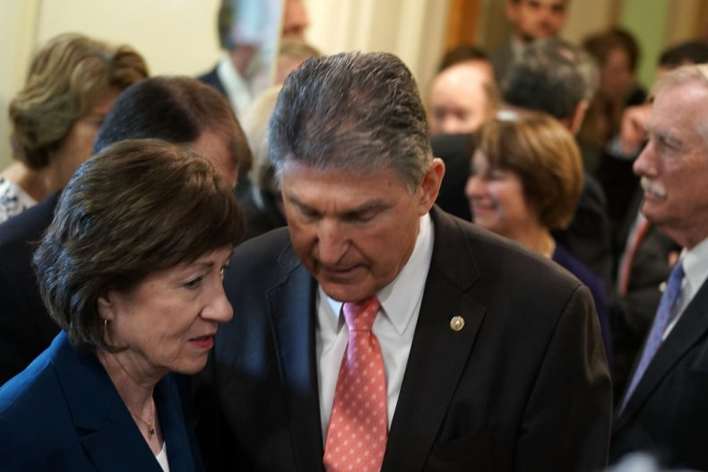 Susan Collins and Joe Manchin