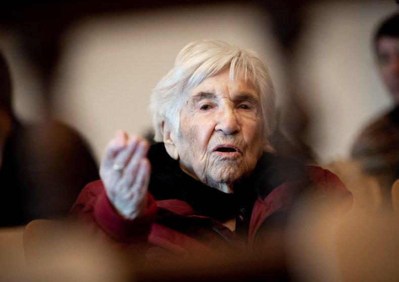 Holocaust Survivor Esther Bejarano, Auschwitz Committee Chairwoman