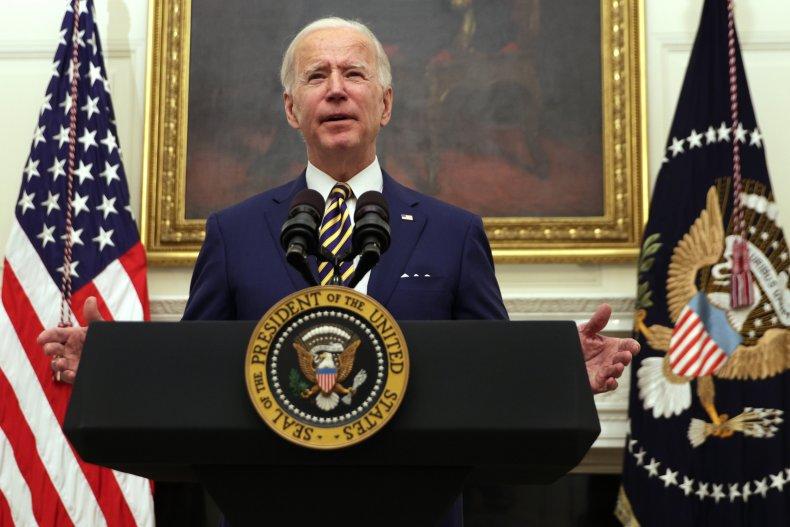 President Joe Biden at the White House