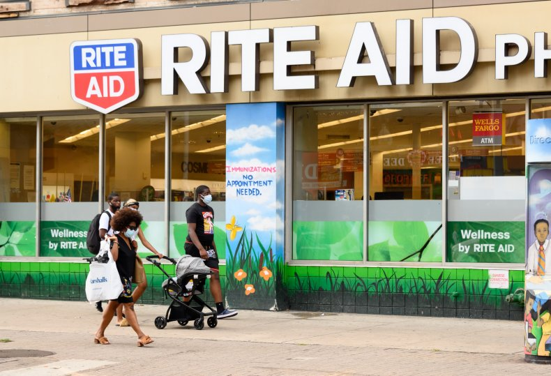 Rite Aid NYC August 2020