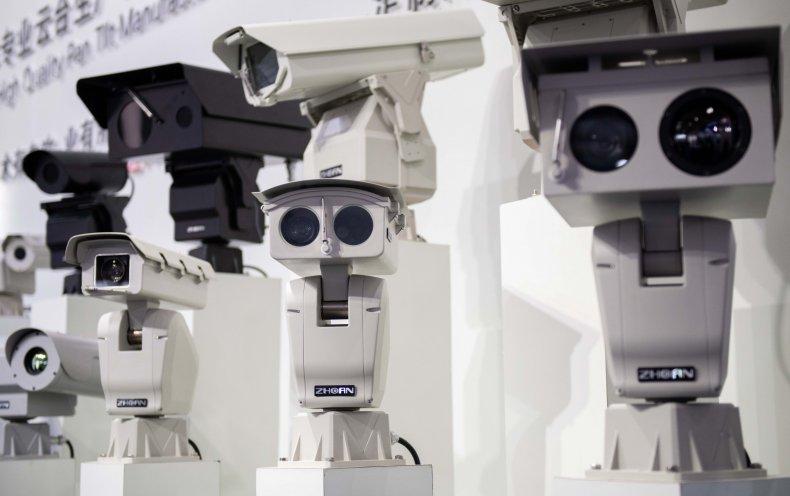 China AI security cameras