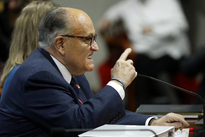 rudy giuliani sued by dominion voting systems