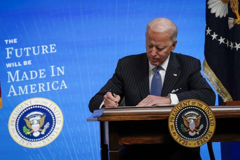 Stimlus Check Biden Congress $1,400