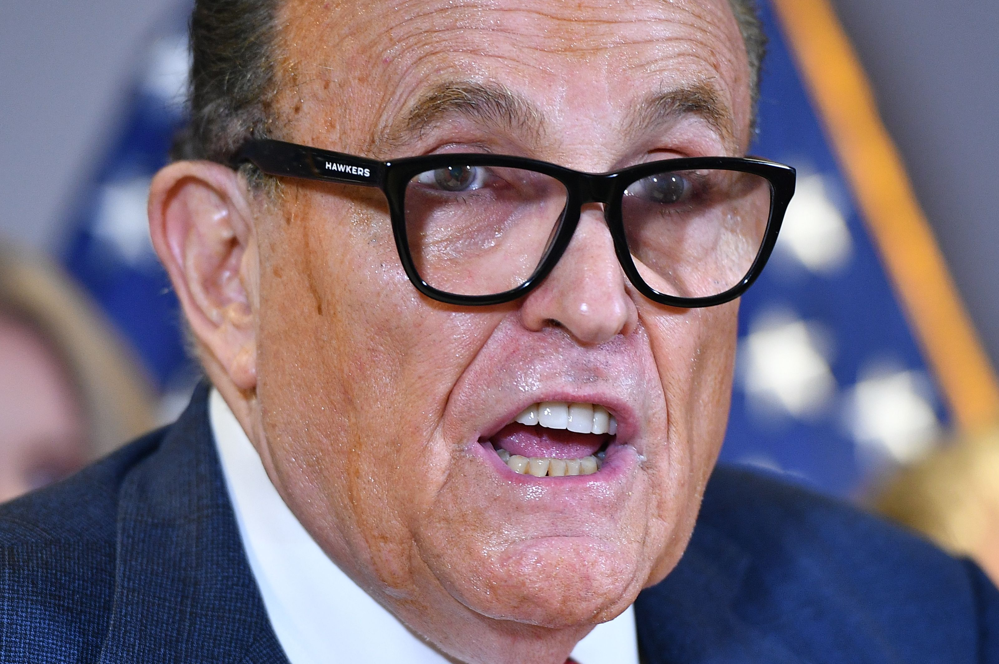 "Rudy Giuliani warns Dominion against lawsuit: ""I'm a crazy guy, I really am, just really crazy"""