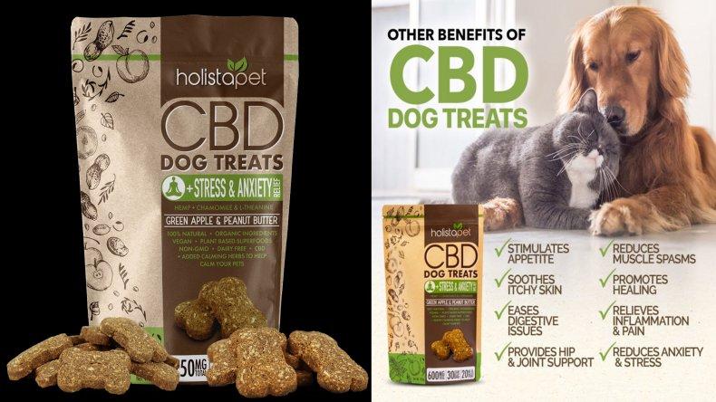 Holista Dog Treats +Stress & Anxiety Relief