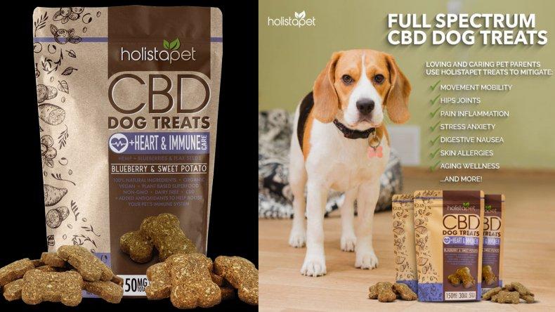 Holista Dog Treats +Heart & Immune Care