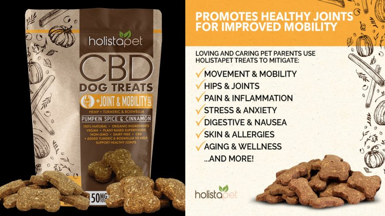 Holista Dog Treats +Joint & Mobility Care