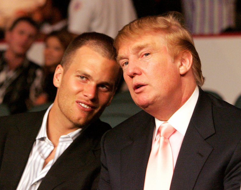 Tom Brady and Donald Trump