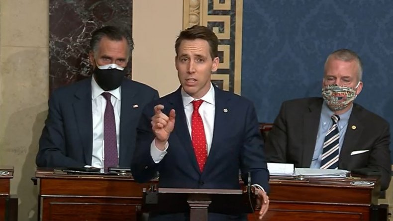 Hawley Speaks on Ratifying the Election Results