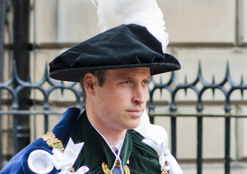 Prince William Attends Thistle Service in Scotland
