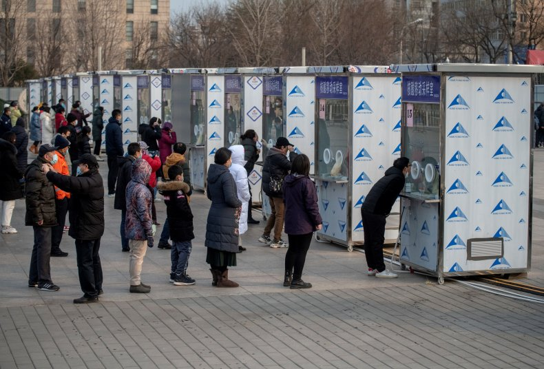 Beijing Mass Testing Screens 2 Million