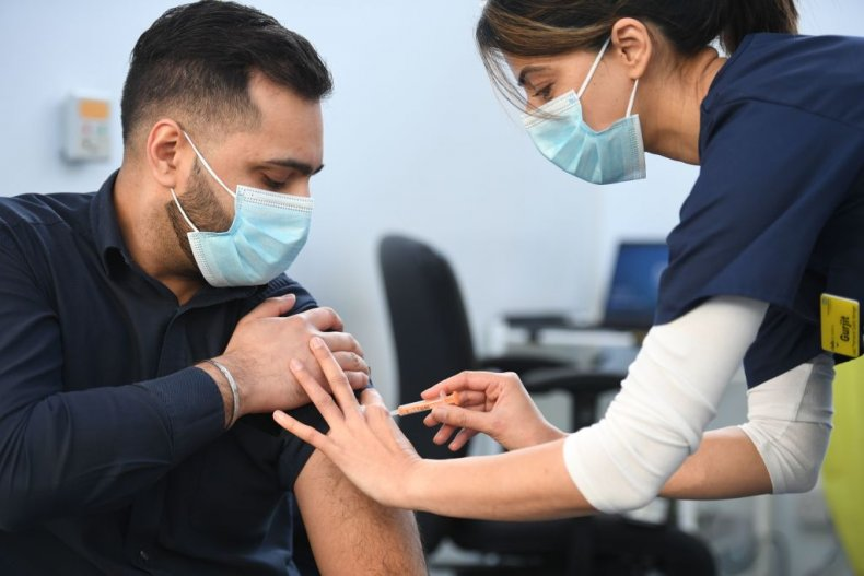 COVID-19 Oxford vaccine given to pharmacists