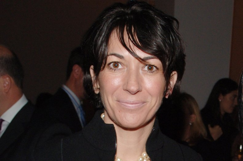 Ghislaine Maxwell at New York City Party